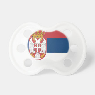 Serbia Flag Pacifiers