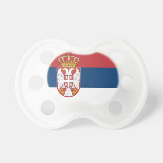 Serbia Flag Pacifier