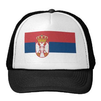 Serbia Flag Trucker Hat