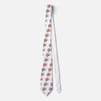 Serbia Flag in Real heart Tie