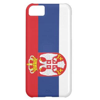 Serbia Flag iPhone 5C Case