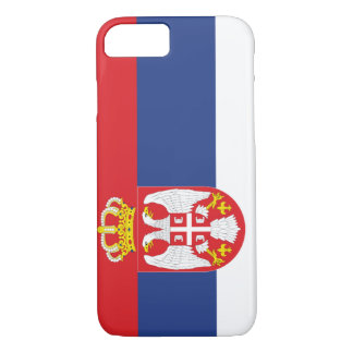 Serbia Flag iPhone 7 Case