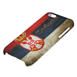 Serbia Flag Cover For iPhone 5C