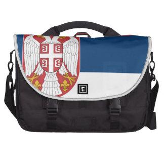 Serbia Flag Commuter Bag