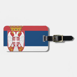 Serbia Flag Tags For Bags