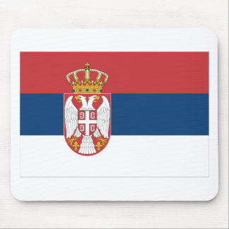 Serbia Flag Mousepads