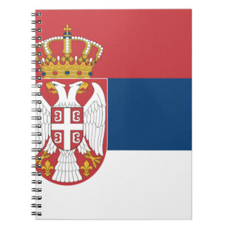 Serbia Flag Notebook