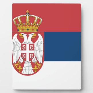 Serbia Flag Plaque