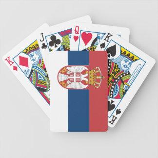 Serbia Flag Card Decks