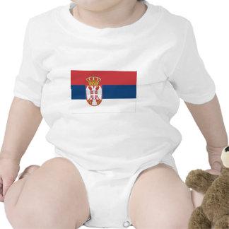 Serbia Flag Romper