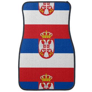 Serbia Floor Mat