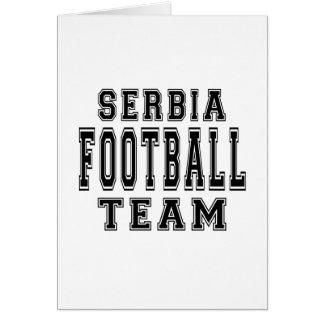 Serbia Football Team Cards