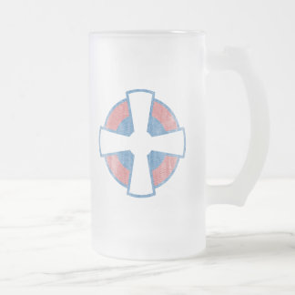 SERBIA FROSTED GLASS MUG