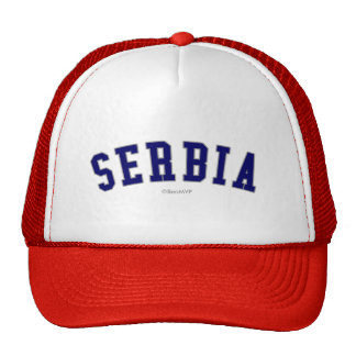 Serbia Mesh Hats