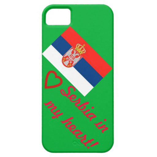 Serbia in my heart! iPhone 5 cover