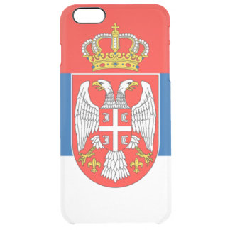 Serbia Uncommon Clearly™ Deflector iPhone 6 Plus Case