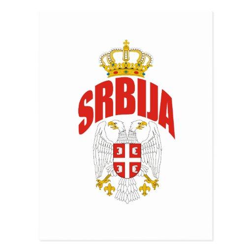 Serbia Latin Postcards
