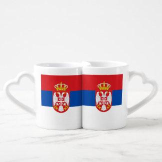Serbia Couple Mugs