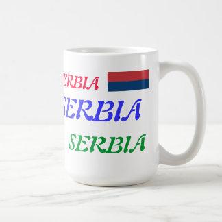 Serbia Basic White Mug