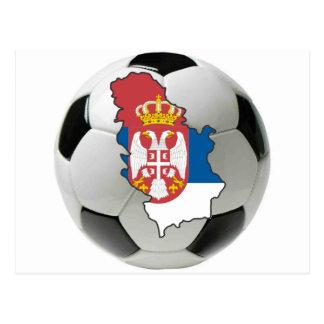 Serbia national team postcards