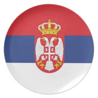 SERBIA DINNER PLATE
