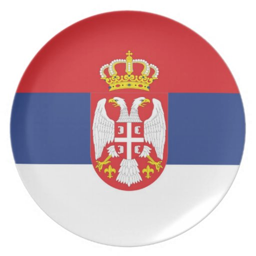 SERBIA PLATES