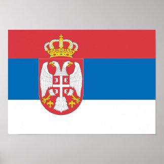Serbia Print
