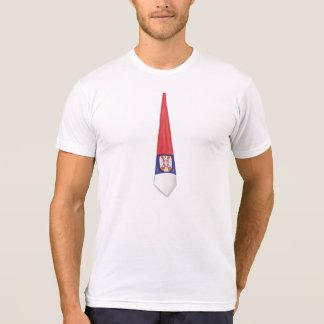 Serbia tie t shirt