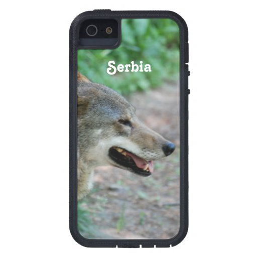 Serbia Wolf Cover For iPhone 5