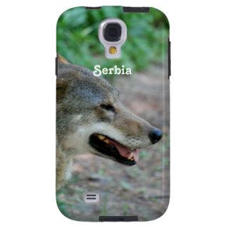 Serbia Wolf Galaxy S4 Case