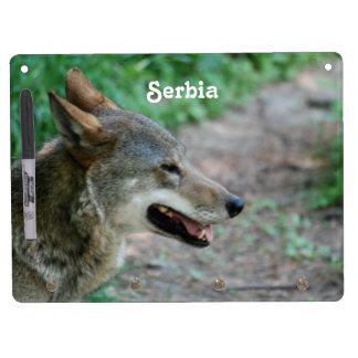 Serbia Wolf Dry-Erase Boards