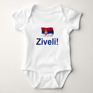 Serbia Ziveli! Baby Bodysuit