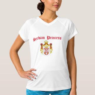 Serbian Princess (with Serbia Coat of Arms) T-Shirt