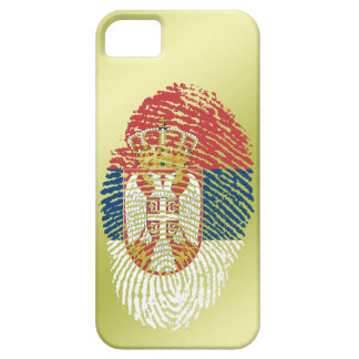 Serbian touch fingerprint flag barely there iPhone 5 case