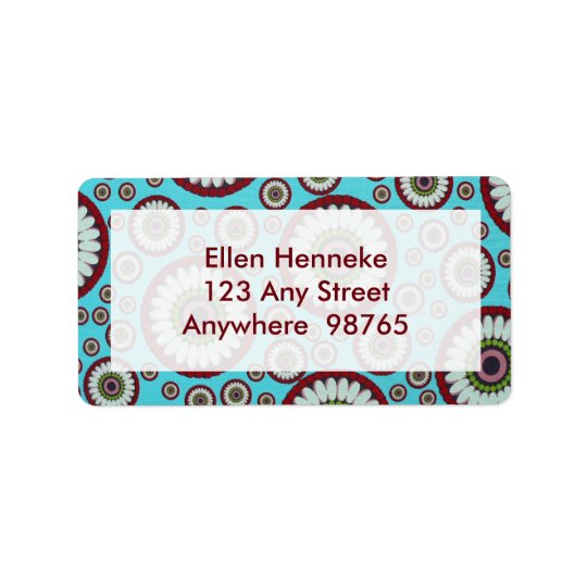 Serendipity River Address Label
