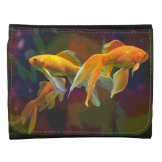 Serene Goldfish Wallet