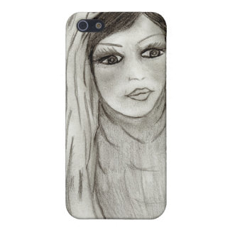 Serene Mary iPhone 5/5S Cover