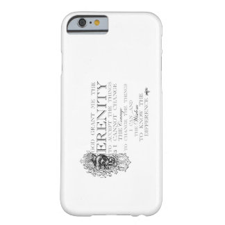Serenity Prayer Barely There iPhone 6 Case