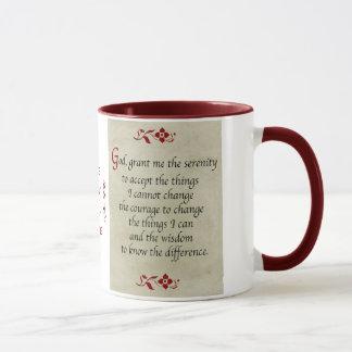 Serenity Prayer/Vintage Style Mug