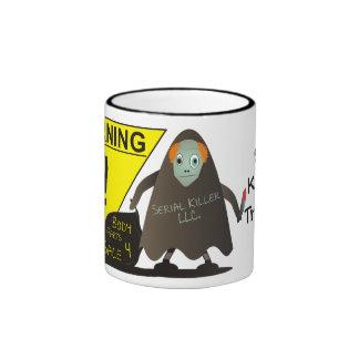 Serial Killer In Training! Ringer Coffee Mug