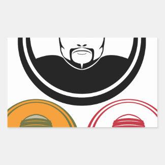 Serial Killer Rectangular Sticker