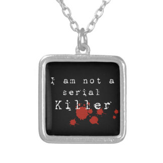 Serial Killer Square Pendant Necklace