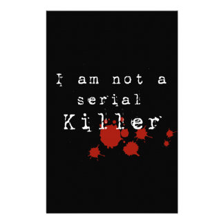 Serial Killer Stationery Design