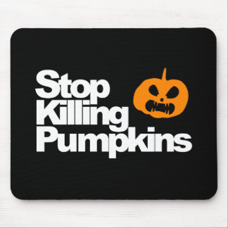 Serial Pumpkin Killer - Halloween Mouse Pad