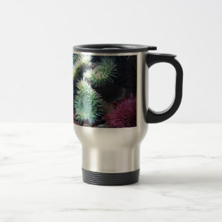 Series sea urchin stainless steel travel mug