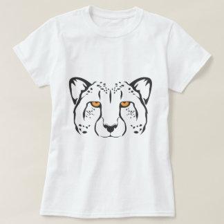 Serious Cheetah Cat T-Shirt