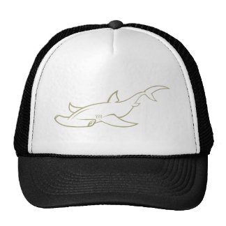 Serious Hammerhead Shark Cap