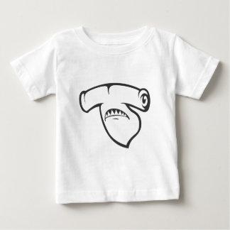 Serious Hammerhead Shark Fish in Black Shirt