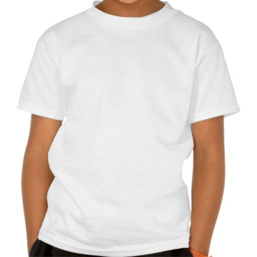 Serious Hammerhead Shark in Black and White Tee Shirt