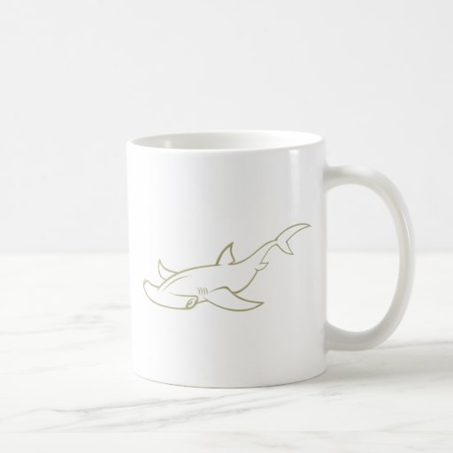Serious Hammerhead Shark Mug